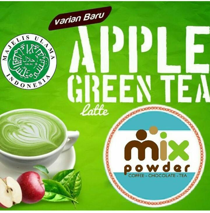 apple-green-tea